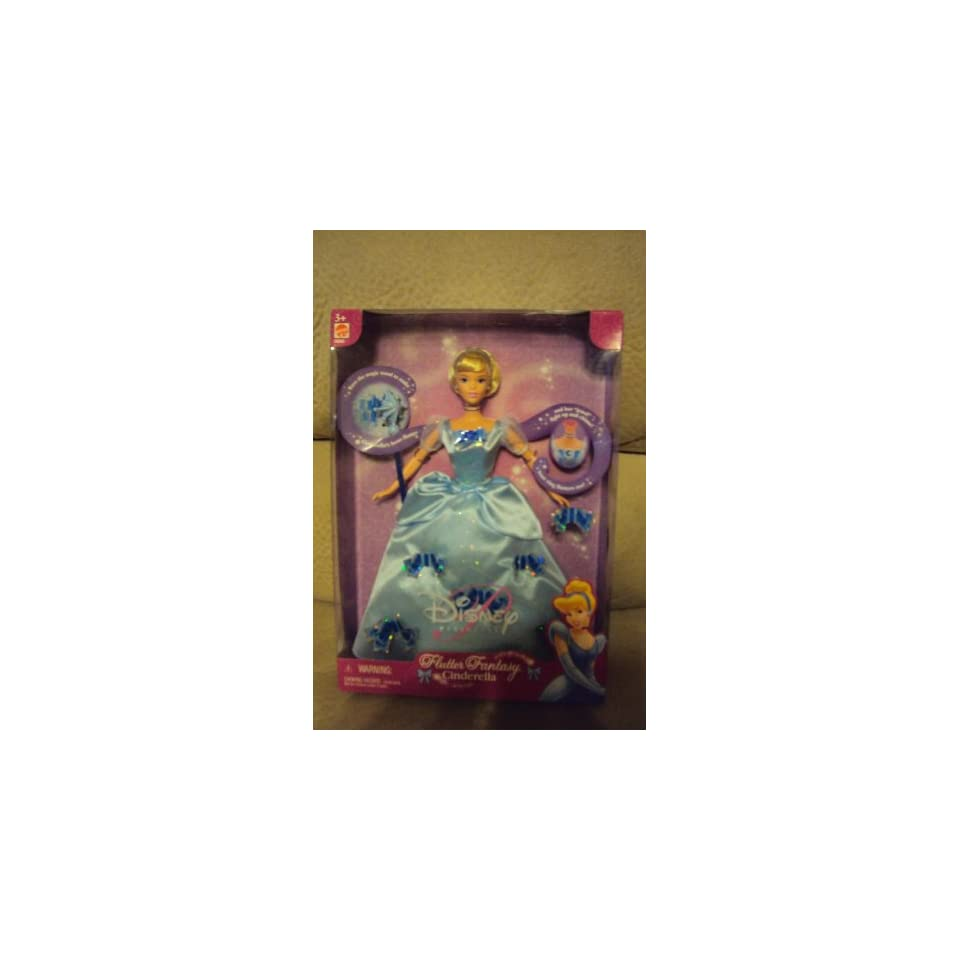 Disney Princess Flutter Fantasy Cinderella Doll Toys