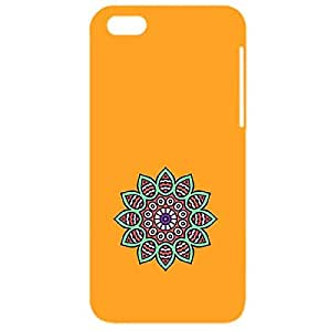 Skin4gadgets Artistically Drawn Mandala Tattoo In Pastel Colors -Orange, No.7 Phone Designer CASE for IPHONE 5S