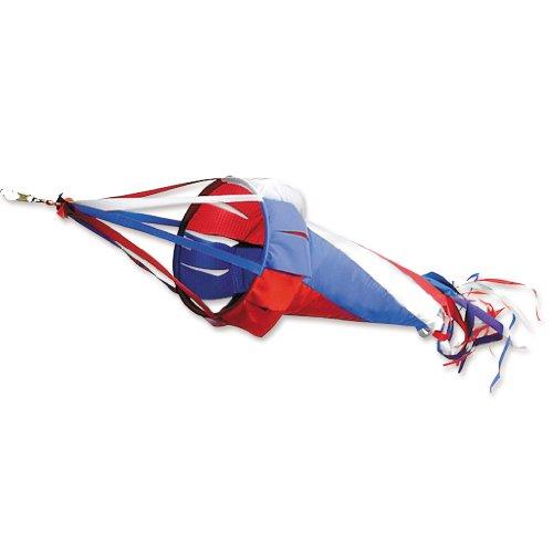 Premier Kites 22532 Wind Garden Spinsock, Patriotic, 48-Inch