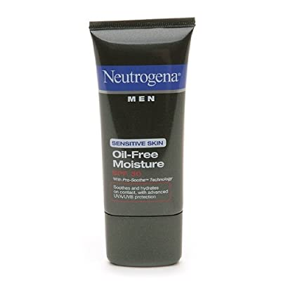 Best Cheap Deal for Neutrogena Men Sensitive Skin Oil-Free Moisture SPF 30 with Helioplex 1.7 fl oz (50 ml) from Ab - Free 2 Day Shipping Available