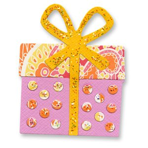 Sizzix Sizzlits Singles Die-Small Gift Polka Dot
