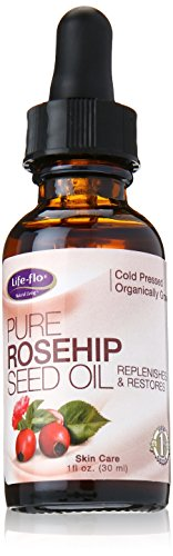 Life-Flo Organic Pure Rosehip Seed Oil, 1 Ounce (Rosa Mosqueta Oil 100 Pure compare prices)