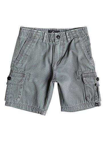 Quiksilver Little Boys' The Deluxe Short Grey, Castlerock, 4T
