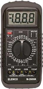 Elenco  Deluxe Full Function Digital Multimeter Kit [ M-2666K ]