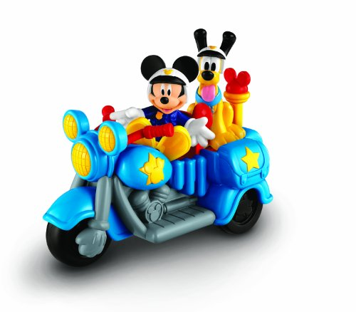 De Fisher-Price Disney Policía Patrulla Bike Mickey