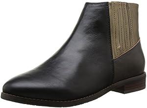Esska Dash, Boots femme - Multicolore (Black Taupe Bronze), 41 EU