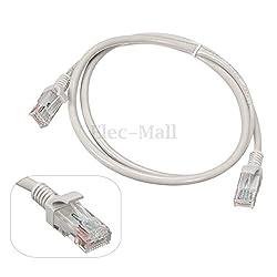 RJ45 Ethernet Network Cable LAN Cat5 Internet Patch Lead 1M