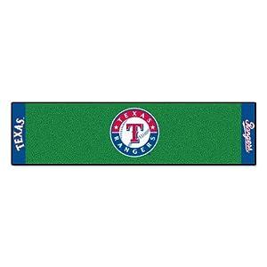 FANMATS MLB Texas Rangers Nylon Face Putting Green Mat by Fanmats