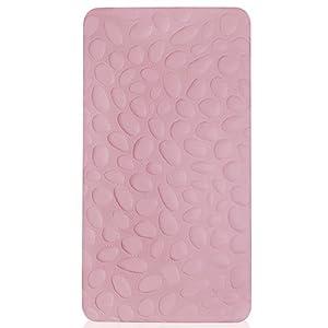 Nook Pebble Lite Crib Mattress (Blush)