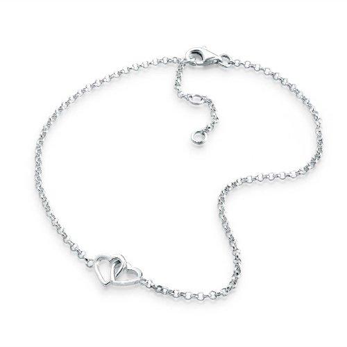 Elli 0706310112_25 25.0 centimetres Sterling Silver 925 Anklet