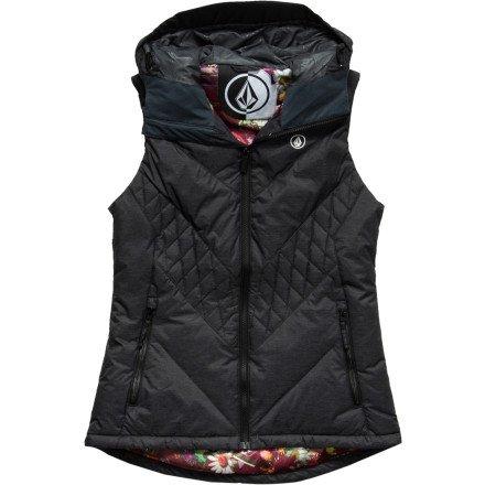 Volcom Revy Puffy Vest - Color:Black - Talla:L - 2014
