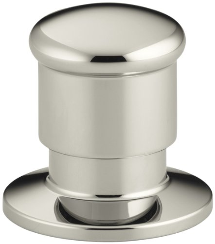 KOHLER K-9530-SN Deck Mount Two-Way Diverter Valve, Vibrant Polished Nickel