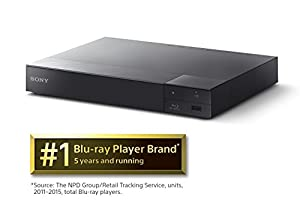 Sony BDPS6500 3D 4K Upscaling Blu-ray Player with Wi-Fi (2015 Model) (Certified Refurbished) from Sony