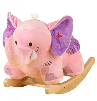RockAbye Bella The Pink Elephant Multi OS -Kids by Rockabye