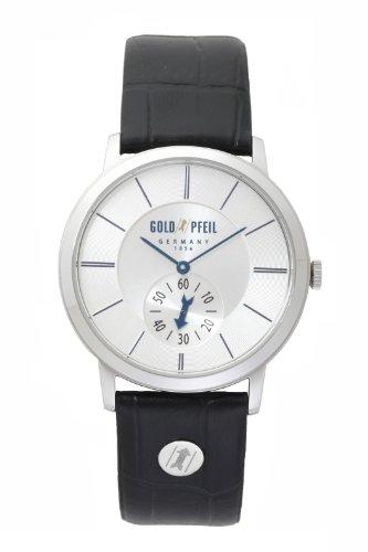 GOLD PFEIL ゴールドファイル 並行輸入品 スモールセコンドモデル メンズ 腕時計 G21003SS ブラック 【正規品】 [時計] [時計]
