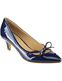 Beston GB80 Women S Pointed Toe Low Heels Bowknot Deco Pump
