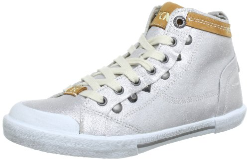 Yellow Cab Boogie High Top Womens Silver Silber (Silver) Size: 7 (40 EU)
