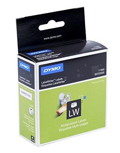 dymo-s0722550-etichette-per-labelwriter-removibili-51-x-19-mm-pezzi-1-x-500-bianco