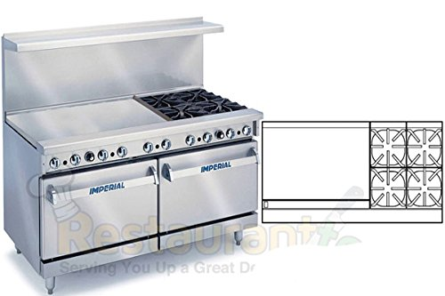 Imperial-Commercial-Restaurant-Range-60-With-4-Burner-36-Griddle-2-Oven-Nat-Gas-Ir-4-G36-Cc