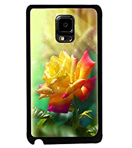 Printvisa Dual Colour Rose In Sunlight Back Case Cover for Samsung Galaxy Note Edge::Samsung Galaxy Note Edge N915