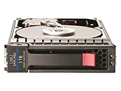 HP 1TB hot-plug Serial ATA (SATA) hard drive- 7200 RPM, 3Gb/sec transfer rate, LFF 3.5-inch form factor Drive model: MB1000ECWCQ