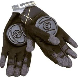Sector 9 BHNC Black Large / X-Large Slide Gloves Downhill Slide Gloves
