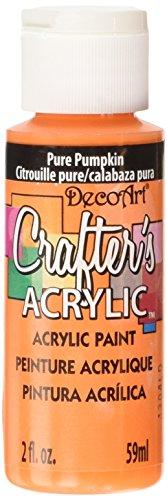 D-Art-Crafters-Acrylic-59ml-Pure-Pumpkin