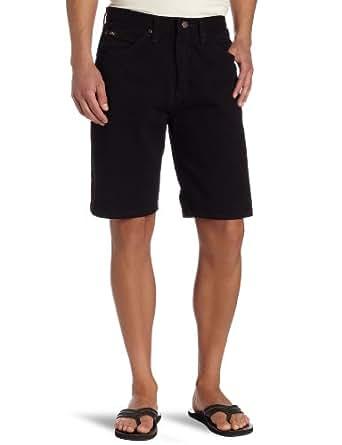 Lee Men's Regular Fit Denim Short, Double Black, 29