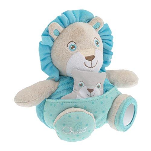 Chicco 7706 - Pupazzo Leone Azzurro Soft Cuddles
