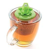 Ribbit Frog Floating Stainless Steel Loose Leaf Tea Cup Infuser