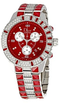 Christian Dior Women's CD11431FM001 Christal Stainless-Steel Bracelet Watch