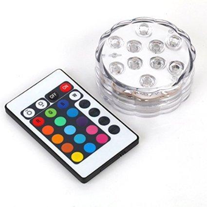 ALED-LIGHT-Multicolor-RGB-10-LEDS-unterwasser-Wasserdicht-Lampe-Leuchte-Deko-Lichter-Schwimmlichter-Beleuchtung-f-Water-GardenAquarium-Badewanne-Pool-und-Spa-etc-1-pcs