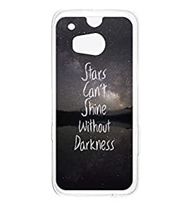 a AND b Designer Printed Mobile Back Cover / Back Case For HTC One M8 (HTC_M8_2959)