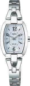 [アルバ]ALBA 腕時計 ingenu アンジェーヌ トノー フラワー ソーラー 日常生活用強化防水 (10気圧) AHJD061 レディース