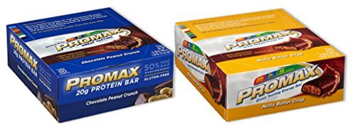 promax-protein-bar-choc-peanut-crunch-nutty-butter-crisp-12-of-ea-24-bars-total