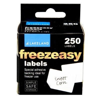 Lakeland Freezeasy-Etiketten, 250 Stück, für Kühlschrank oder Gefrierschrank, 2,5 x 4 cm