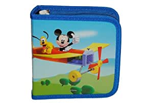 f r 32 cd tasche mickey mouse h lle aufbewahrung kinder. Black Bedroom Furniture Sets. Home Design Ideas