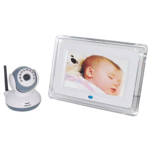 "Walsoon 7"" Lcd Screen 2.4G Digital Video Wireless Voice Control Baby Monitor Night Vision 2-Way Talk"