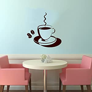 of coffee smoke cafe dining room kitchen decor wall vinyl decal art