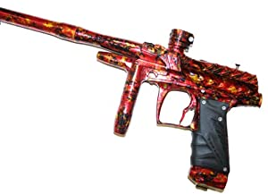 2012 Bob Long DRAGON G6R OLED Paintball Marker Gun - Limited Edition Custom LAVA
