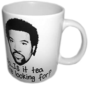 Lionel Richie Hello Is It Tea You're Looking For Ceramic Mug