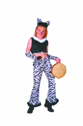 Rock Star-zebra Costume