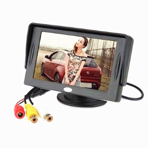 On The Way® 4.3 Inch Tft-Lcd Car Rearview Monitor Screen With Pocket-Sized Color Lcd Display Monitor For Car / Automobile Backup Camera