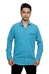 Relish Men's Checkered Casual Multicolor Shirt