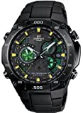 Casio Edifice Black Label MultiBand Atomic Solar 3D Chrono BlkIP EQWM1100DC-1A2