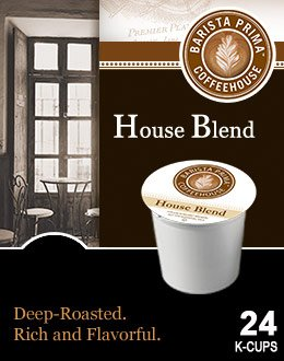 Barista Prima Coffeehouse HOUSE BLEND 48 K-Cups for Keurig Brewers (Keurig Barista House Blend compare prices)
