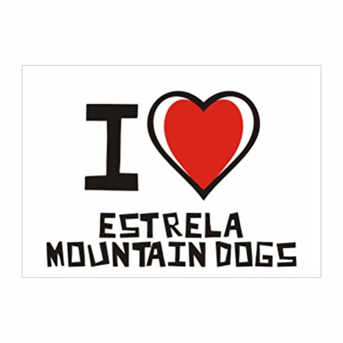 teeburon-i-love-estrela-mountain-dog-pack-de-4-pegatinas