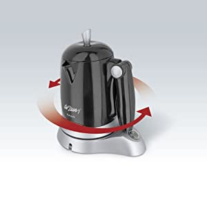 ARZUM KAHWE Turkish Greek Coffee Maker Briki Electric Machine Jazwa COLOR:Black: Amazon.co.uk ...