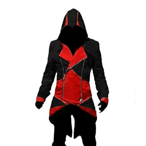 Rulercosplay Assassin's Creed 3 Connor Kenway Jacket Hoodie Cosplay (3 Colors)