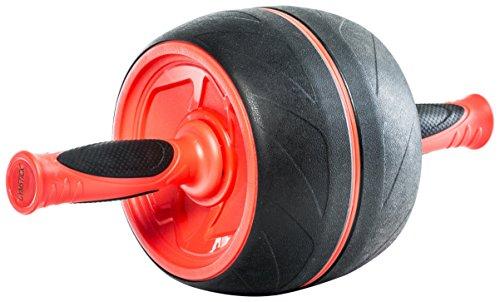 gymstick-61021-jumbo-ab-roller-red-black-19-x-38-x-19-cm